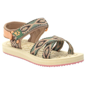 Jack Wolfskin Zulu Sandals Kids, beige/rose